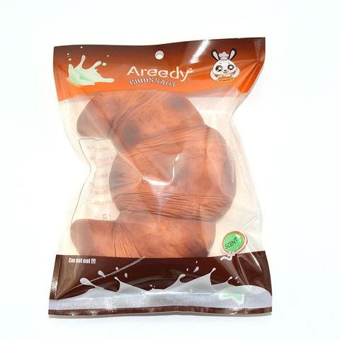 [Smilingtree,New Colossal 18CM Areedy Croissant Squishy Scented Super Slow Rising Bread Toys] (Diy Elephant Halloween Costume)
