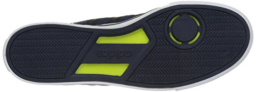 Adidas Mens Cloudfoam Super Dagelijkse Mode Sneakers Collegiaal Marine / Zwart / Wit