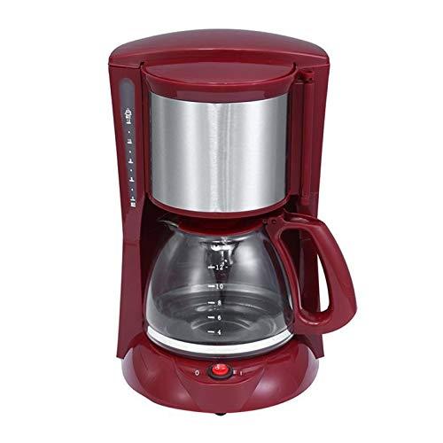 ASDFGT-778 2L 8-12 Taza de café de la máquina Espresso 220V Goteo Cafetera con el Vidrio de la Caldera de café en Polvo…