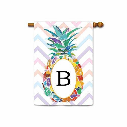 Kafepross Pineapple Letter Banner Monogram