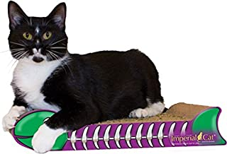 product image for Imperial Cat Fish Bone Scratch 'n Shape, Purple and Green