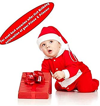 Toddler Baby Girl Kid Christmas Costume Red Dress Party Xmas Santa Claus Dresses