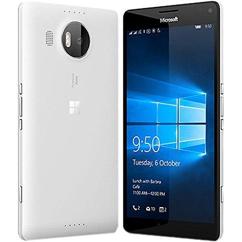 Price comparison product image Microsoft Lumia 950 XL RM-1116 (Factory Unlocked) Dual SIM North American Version (White)