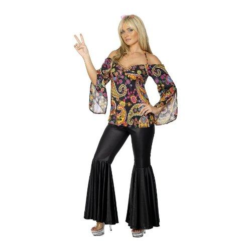 [Hippie Adult Plus Costume] (70s Jewellery Disco)