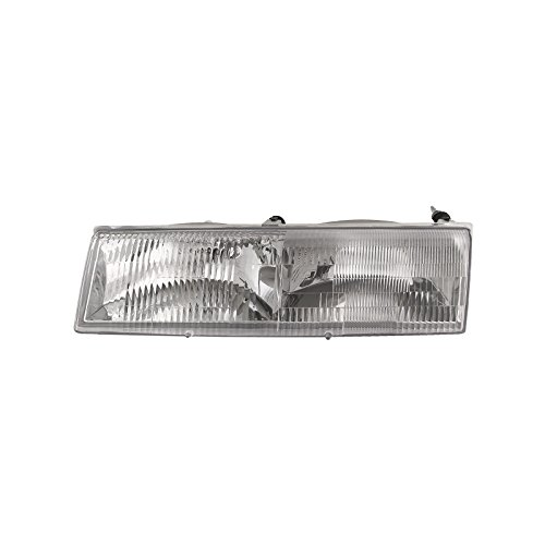 New Mercury Cougar Headlight - Headlights Depot Replacement for Mercury Grand Marquis/Cougar Driver Side Replacement Headlight New