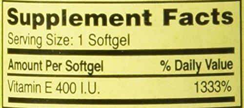 Spring Valley Vitamin E 400 IU, 100 Softgels
