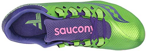 Saucony Showdown 4 Women 6.5 Slime | Purple by Saucony (Image #8)