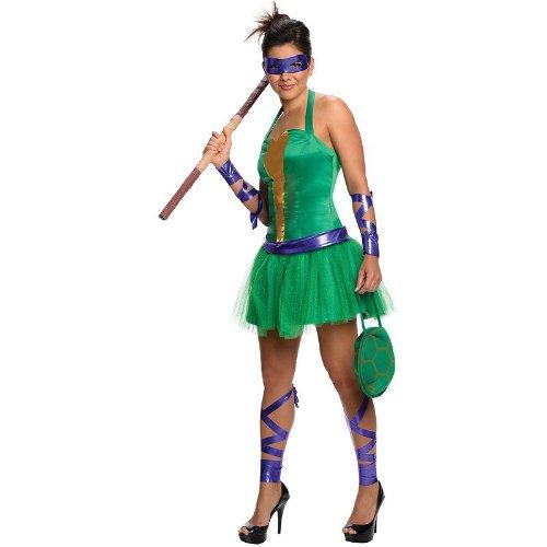 Teenage Mutant Ninja Turtles Costumes Ideas - DONATELLO ADULT FEMALE SZ L