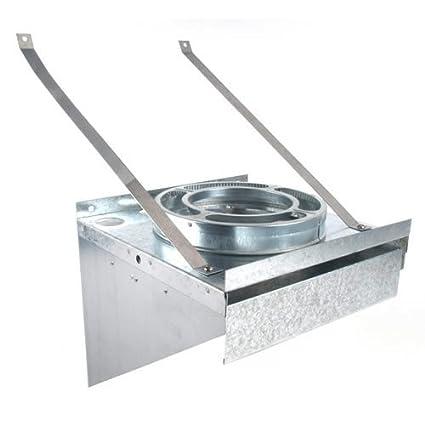 Dura Vent 9072 6 Inch Tee Supportcket Heating Equipment Amazon Com