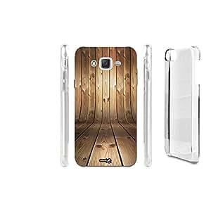 Carcasa Case Crystal Centodiciannove efecto madera para Samsung Galaxy J52016SM-J510F