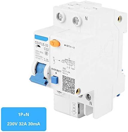 残留電流遮断器、DZ47LE-32 1P + N C32 RCCB残留電流遮断器30mA 230V