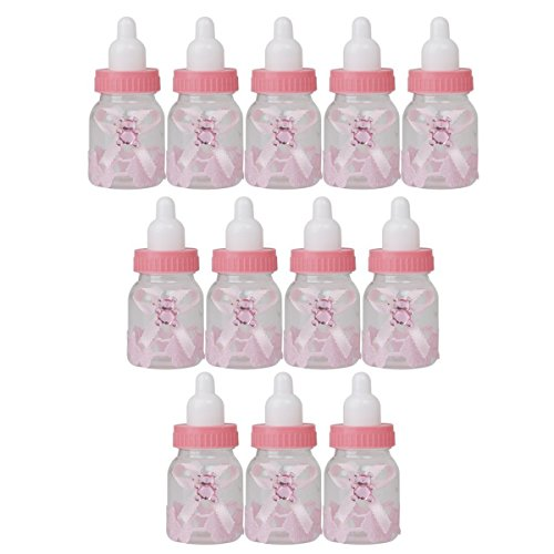 Tinksky 12pcs Bottle Shower Feeder