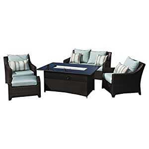 Amazon.com: RST Brands Deco 5 Piece Amor y club Fire Chat ...