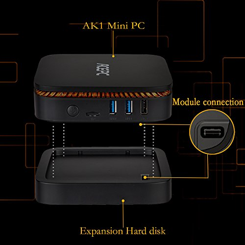 Sofa Mart Barracuda: Mini PC Windows 10 Intel Celeron Apollo Lake J3455 /4GB
