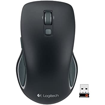 6e7a1179c68 Logitech M560 Wireless Mouse - Hyper-fast Scrolling, Full-Size Ergonomic  Design for Right or Left Hand Use, Microsoft Windows Shortcut Button, ...