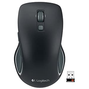 Logitech M560 Wireless Mouse – Hyper-fast Scrolling, Full-Size Ergonomic Design for Right or Left Hand Use, Microsoft…