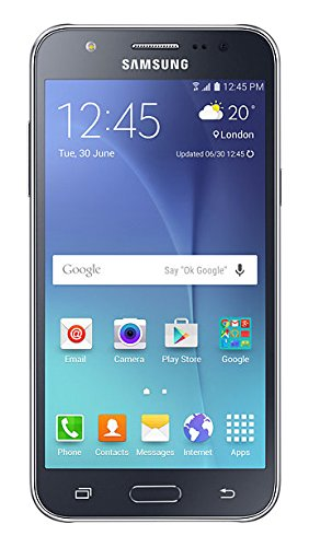Samsung Galaxy J5 SM-J500H/DS GSM Factory Unlocked Smartphone, International Version (Black)