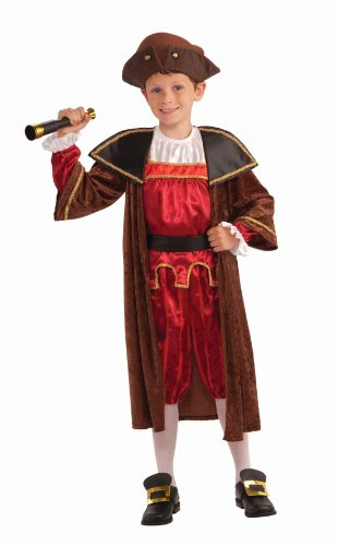 Forum Novelties Children's Christopher Columbus Costume, Large