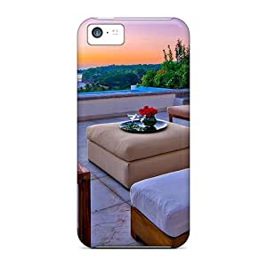 New Cute Funny Elegant Terrace Cases Covers/ Iphone 5c Cases Covers