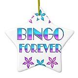 Zazzle Bingo Forever Ceramic Ornament Star