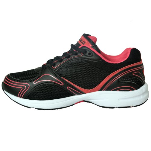 Active Chaussures 4 Dames Femmes Gym Respirant Course 8 Athlétique Noir Pied Taille UK Jogging Gola Formateurs 6 5 À Sport New 7 dqOwxEEta