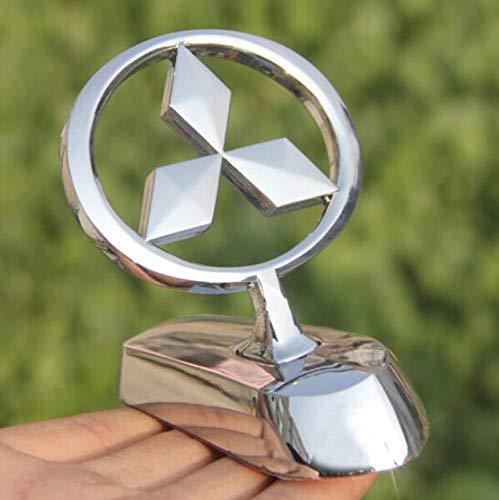 bearfire 3D Emblem Car Logo Front Hood Ornament Car Cover Chrome Eagle Badge (Mitsubishi) -
