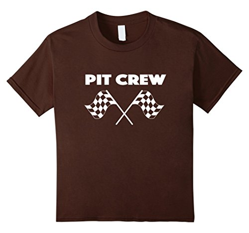 Costume Girl Pit (Kids Official Pit Crew T Shirt | Racing Pit Crew Tee 6)