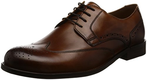 ECCO London, Zapatos de Cordones Brogue para Hombre brown
