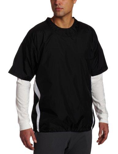 Easton Short Sleeve Enforcer Jacket, Black, X-Large