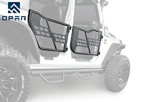 Opar Rock Crawler Off Road Front & Rear Tubular for 2007-2017 Jeep JK Wrangler Unlimited (4-Door)