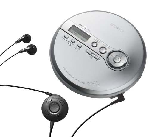 Sony D-NF340 CD Walkman & MP3 Player w/FM Tuner by Sony