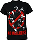 The Walking Dead No Walkers Allowed Zombie Officially Licensed AMC Adult T-shirt XL