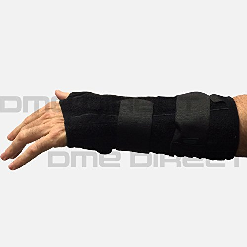 (452-RT Orthosis Wrist/Forearm Titan Felt Right Black Part# 452-RT by Hely & Weber Qty of 1 Unit)