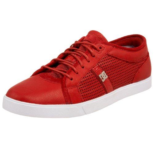 Dc Mens Klänning Sneaker Röd