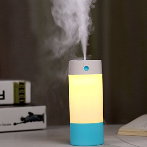 250ML Essential Oil Diffuser Humidifiers ,Boyko Aromatherapy Diffusers LED Nightlight Waterless Auto Shut-off for Home Office Living Room Bedroom Car Yoga Spa