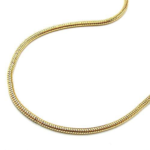 Chaîne collier serpent chaîne longueur mince longueur 38 cm