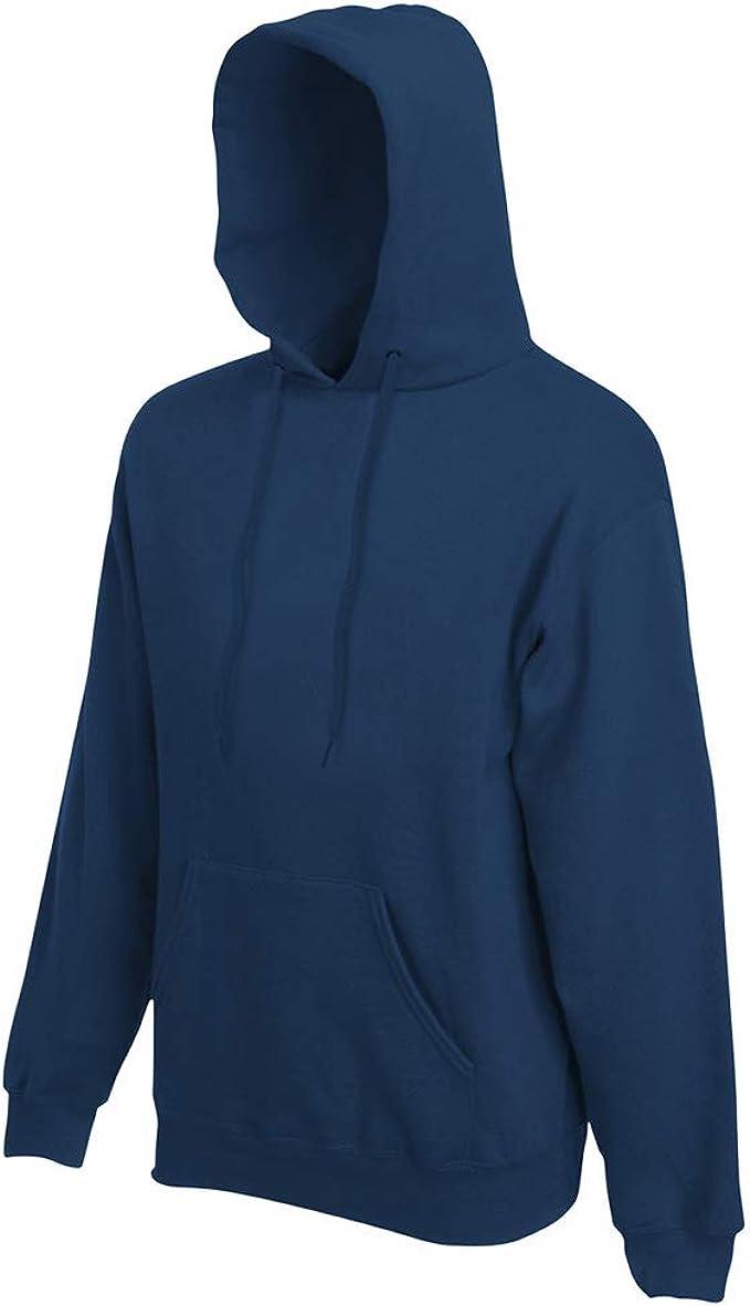 Fuchsia Adult Fruit of the Loom Plain Blank Hooded Sweatshirt Pullover Hoodie