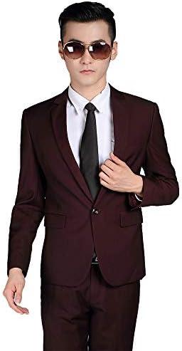 メンズスーツ スーツセット ビジネススーツ 2点セット スリム 無地 1つボタン 上下セットスーツ スタイリッシュスーツ 礼服 就職スーツ オールシーズン 光沢あり 立体裁断 ウォッシャブル 防シワ 大きいサイズ A1171