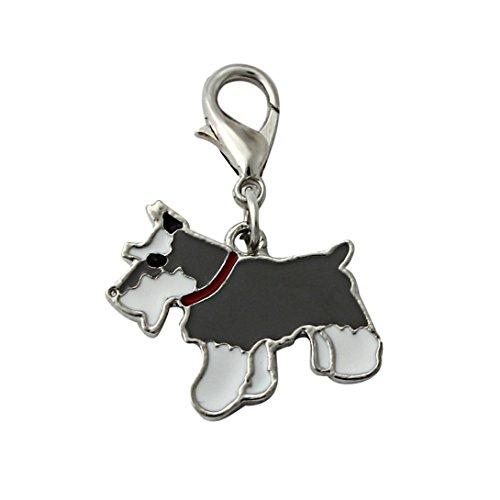 wensltd-hotsale-schnauzer-tag-pet-id-enamel-necklace-pendant