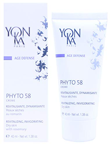 (YON-KA AGE DEFENSE YON-KA PHYTO 58 PNG Regenerating, Invigorating (1.38 Ounce / 40 Milliliter) - Nighttime Treatment That Provides Anti-Aging Benefits and Promotes a Refined Skin Texture)