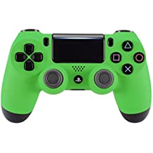 """Green """"Soft Touch"""" Modded PS4 Rapid Fire Controller, Works With All Games, COD, Rapid Fire, Dropshot, Akimbo & More"""