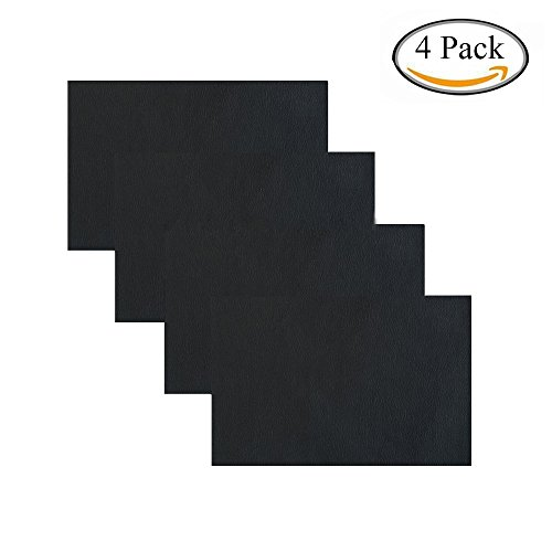 Adhesive Back Leather Repair Patch for Car Seat Couch Jackets Handbags 4x8 Inches, Pack of 4 - Car Jackets