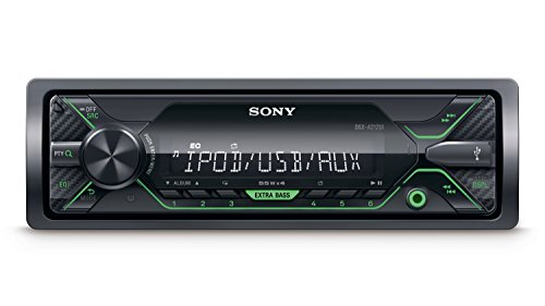 Sony DSX-A212UI Media Receiver with USB – Green