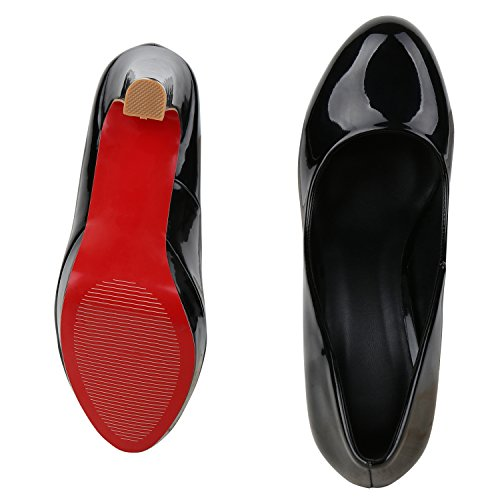 napoli-fashion - Cerrado Mujer negro satinado