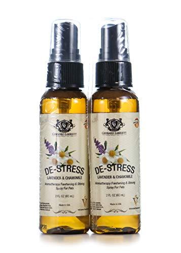 Aromatherapy Freshening & Shining Spray for Pets, Dog Grooming Spray, Dog Perfume, Dog Cologne & Pet Odor Eliminator 2 FL OZ (60 mL) Travel Size - Perfume Pet Cologne