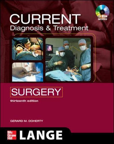 CURRENT Diagnosis and Treatment Surgery: Thirteenth Edition (LANGE CURRENT - Wall Pinnacle Series