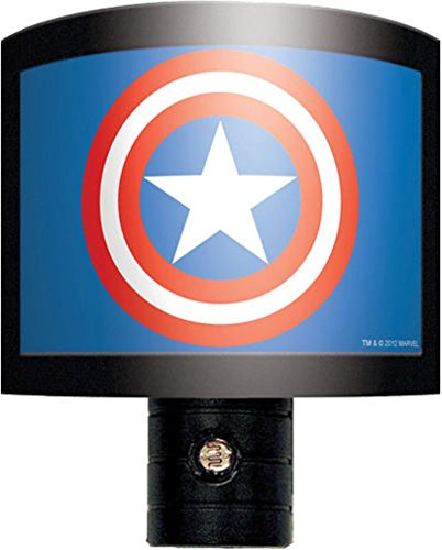 Ata-Boy Marvel Comics Captain America Logo Nite Lite
