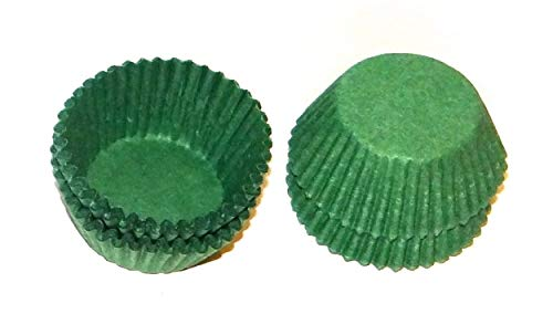 Candy Molds N More Size 4 Green Paper Candy Cup Cups 200 - Green Cups Candy