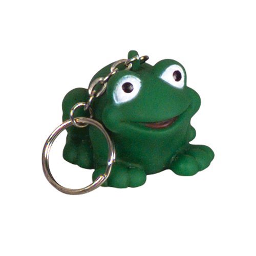 - Rubber Frog Keychains