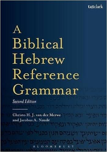 Book A Biblical Hebrew Reference Grammar (Biblical Languages: Hebrew )